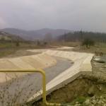 Regularizarea albiei raului ampoi si a afluentilor