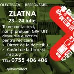 ANUNT PRIVIND RECICLAREA DESEURILOR ELECTRICE